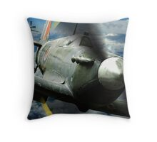Twin Spits Throw Pillow