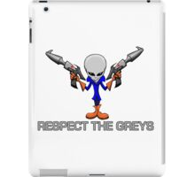 RESPECT THE GREYS iPad Case/Skin
