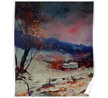 snowy landscape 569020 Poster