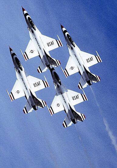 Thunderbirds by Lomcovak