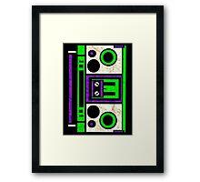 Boombox 1987- XXL Framed Print