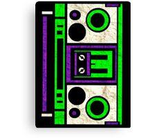 Boombox 1987- XXL Canvas Print