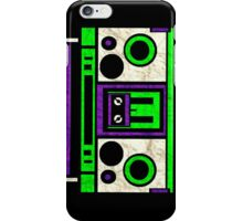 Boombox 1987- XXL iPhone Case/Skin