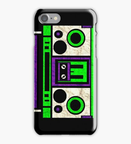 Boombox 1987- XXL iPhone Case/Skin