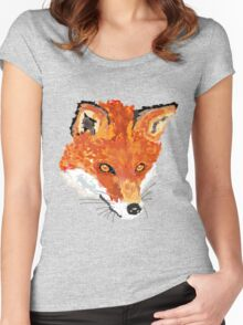 Sly as a Fox (Shirt) Women's Fitted Scoop T-Shirt
