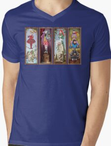 Haunted Arkham Asylum Mens V-Neck T-Shirt
