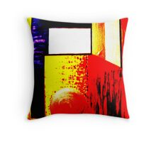 Abstract  Primary colours  Throw Pillow