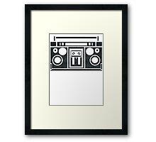 Boombox 9000 Framed Print