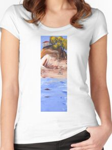Going home Women's Fitted Scoop T-Shirt