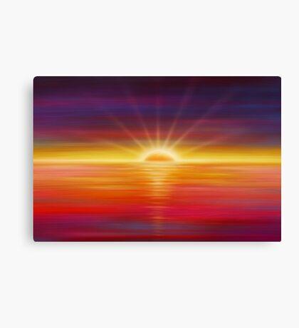 Modern Art Smart Stylish Wall Art Vivid Sunrise Canvas Print
