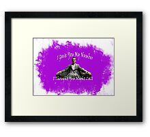 I Thought You Might Call Framed Print