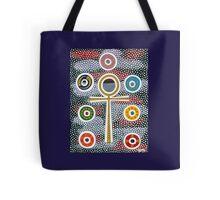 Ankh and Chakra Design Tote Bag