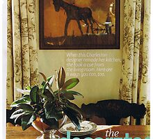 """""""Country Home®"""" Magazine Featuring Artwork by Seth  Weaver"""