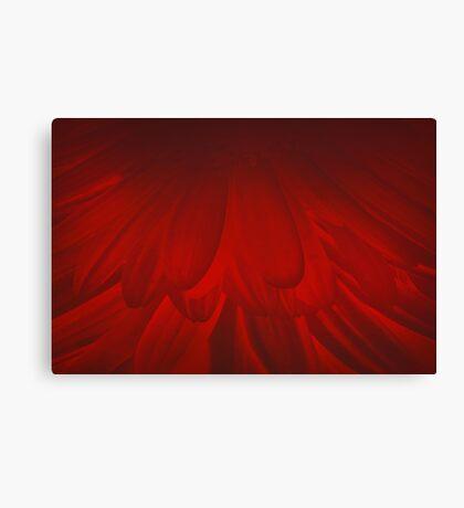 Modern Art Smart Stylish Wall Art Red Bloom Canvas Print