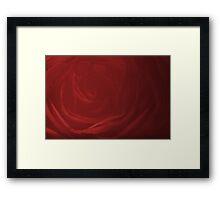 Modern Art Smart Stylish Wall Art Red Rose Bloom Framed Print