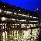 Mid-Night St, Mark's Square by phil decocco