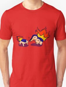 Pokemon Half-Life 2 Cyndaquil and Headcrab Playdate Unisex T-Shirt