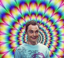 Sheldon Cooper tripppin' by camvidal