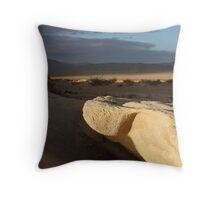 Johnson Valley Morning Throw Pillow