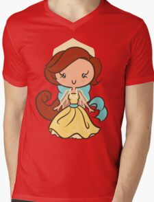 December Princess Mens V-Neck T-Shirt