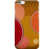 Modern Art Smart Stylish Wall Art Circles iPhone Case/Skin