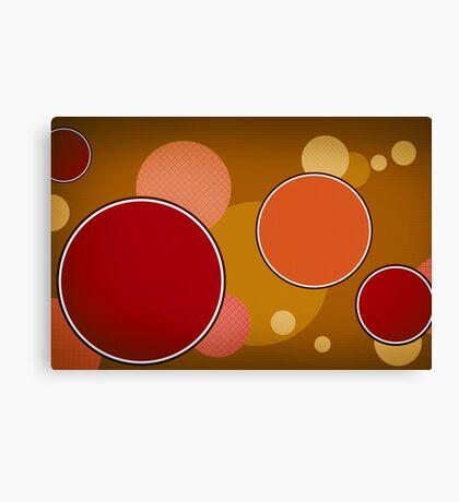 Modern Art Smart Stylish Wall Art Circles Canvas Print