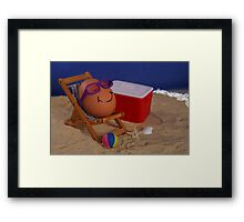 Easter Vacation Framed Print