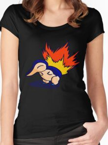 Pokemon - Cyndaquil Product Women's Fitted Scoop T-Shirt