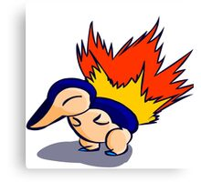 Pokemon - Cyndaquil Product Canvas Print