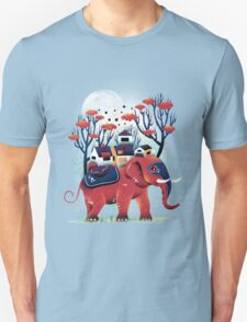 A Colorful Ride Unisex T-Shirt