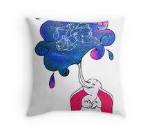 Galaxy Dumbo Throw Pillow