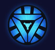 Superheroes / Mark VI Arc Reactor / Nerd & Geek by badbugs