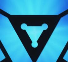 Superheroes / Mark VI Arc Reactor / Nerd & Geek Sticker
