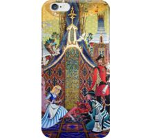 Cinderella Slipper Castle Mosaic iPhone Case/Skin