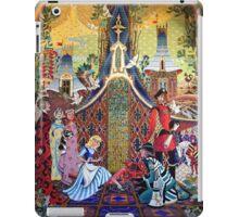 Cinderella Slipper Castle Mosaic iPad Case/Skin