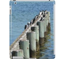 WAITING FOR THE FISH  iPad Case/Skin