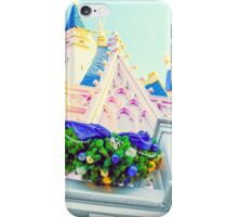 cinderella castle at christmas. iPhone Case/Skin