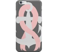 Breast Cancer Anchor iPhone Case/Skin