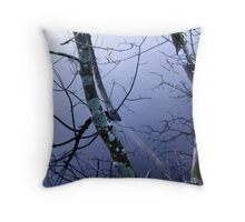 By the lily ponds Throw Pillow