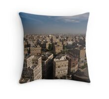 Sana'a - Yemen Throw Pillow
