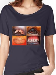 Anatomy of a dog Women's Relaxed Fit T-Shirt