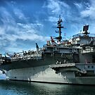 USS Midway by Barbara  Brown