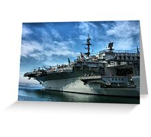 USS Midway Greeting Card