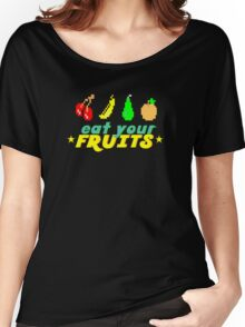 Eat Your Fruits Women's Relaxed Fit T-Shirt