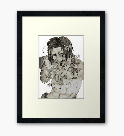 Portgas D. Ace Framed Print