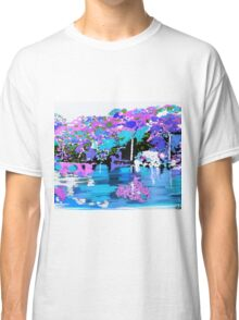 Enchanted Forest Oil Painting Classic T-Shirt
