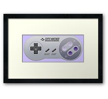 Super Nintendo Controller - That's It Framed Print