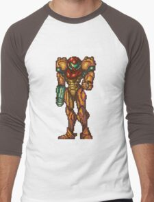 Samus Aran - Super Metroid - See You Next Mission Men's Baseball ¾ T-Shirt