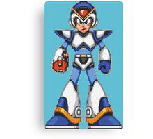 Mega Man X - Light Armor Canvas Print