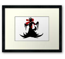 Fire Beast- Pokemon Kalos Framed Print